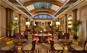 The Palm Court at The Sheraton Grand London Park Lane, Mayfair