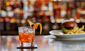 Bourbon Bar at JW Grosvenor House London, Mayfair