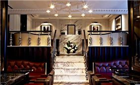 The Luggage Room at London Marriott Hotel Grosvenor Square, Mayfair