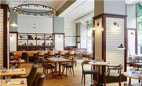 The Pickled Hen at London Marriott Hotel Marble Arch